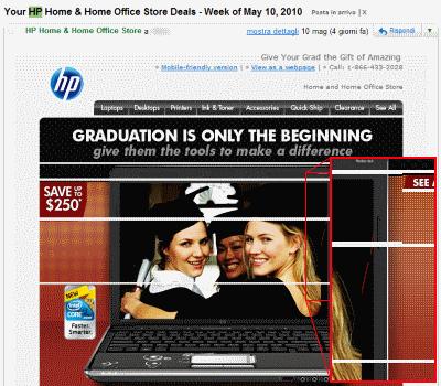 Email di HP su Gmail