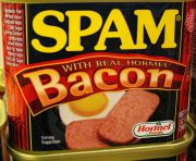"""Spam, Now with Real Bacon!"" by Flickr user ""cobalt123"""