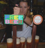 """Free Beer"" by Flickr user ""fengergold"""