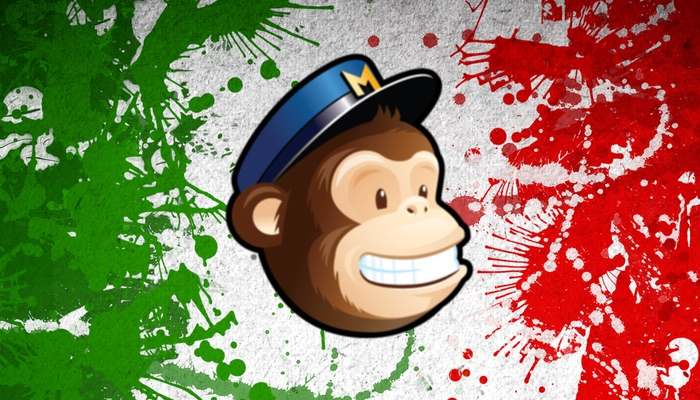 mailchimp in italiano?